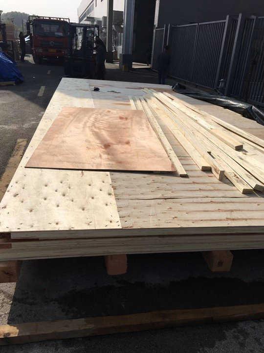 大型木箱熏蒸底座